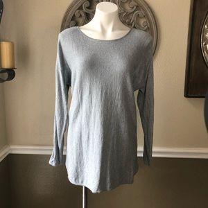 MICHAEL Michael Kors  grey light weight sweater